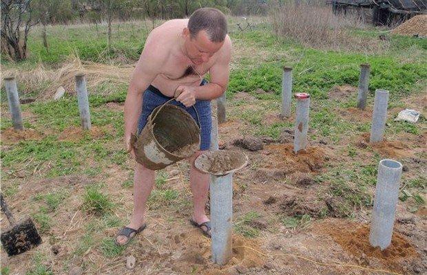 Трубный столбчатый фундамент – рекомендации по обустройству