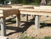 Фото - Фундамент из металлических труб – делаем сами надежное столбчатое основание