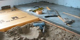 Утепление бетонного пола – в доме всегда будет комфортно!