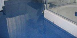 Жидкое стекло для напольных оснований – красиво, практично и оригинально