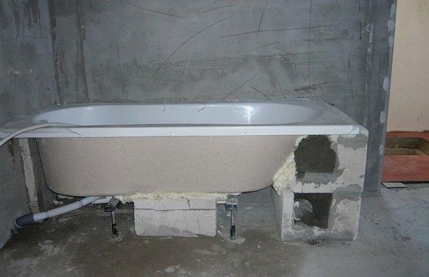 Каркасные стойки для акриловых и стальных ванн