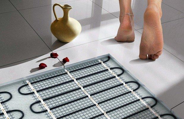 Разновидности теплых полов для ванных комнат – выбирайте!