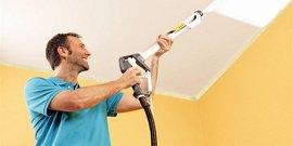 Чем красить потолок в комнате – выбираем подходящий материал покрытия