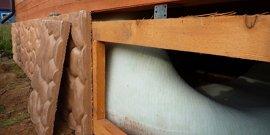 Утепление пола в доме на сваях – в вашем доме будет комфорт!