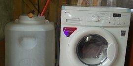 Фото - Подключение стиральной машины без водопровода – комфорт в загородном доме обеспечен!