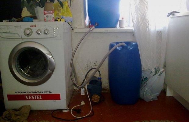 Машина-автомат без водопровода – нужна ли она?