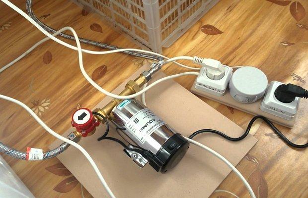 Улучшаем работу насоса – делаем машинку автоматической