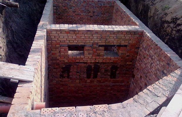 Кирпичная канализация – масса достоинств и минимум недостатков
