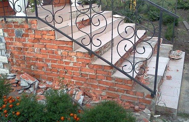 Строим крыльцо – почувствуйте себя каменщиком