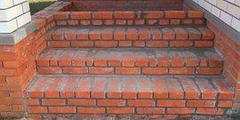 Фото - Крыльцо из кирпича – долговечная и надежная конструкция