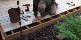 Крыльцо из террасной доски – красивое и практичное сооружение