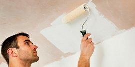 Как правильно красить потолок валиком – правила для начинающих маляров