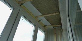 Потолок на балконе своими руками – популярные варианты