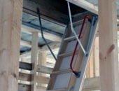 Фото - Складная лестница на технический этаж – строим быстро и надежно