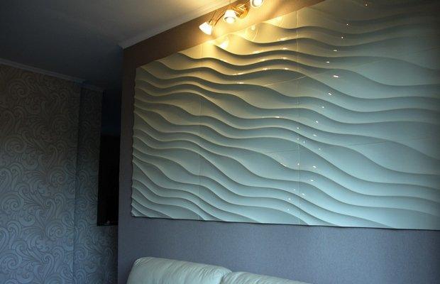 3D панели как оригинальное решение для отделки стен