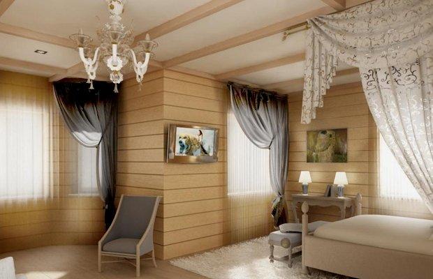 Гипсокартон в деревянном доме – теория и практика