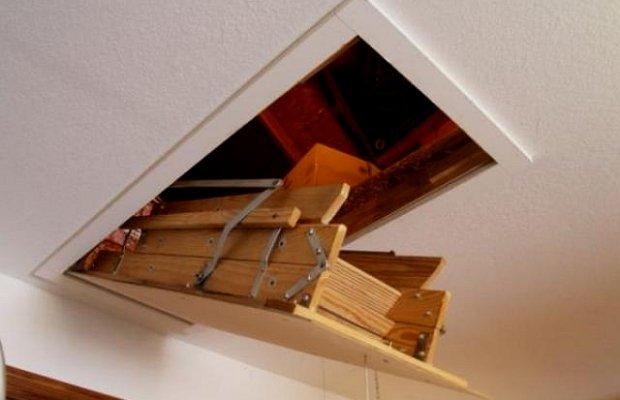Складные лестницы – виды и особенности