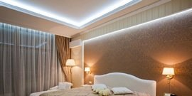 Подсветка потолка светодиодной лентой – создадим сами уникальный светодизайн