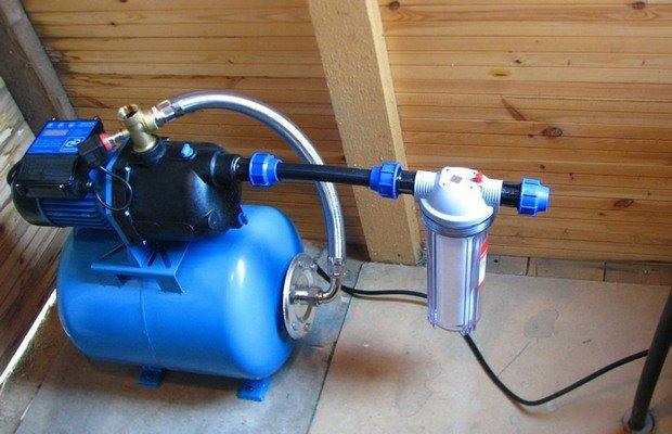 Ключевые функциональные узлы агрегатов для подъема воды