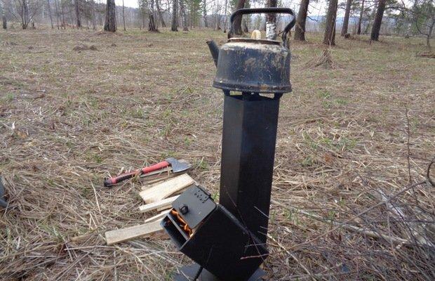 Ракетная печь – простая и эффективная