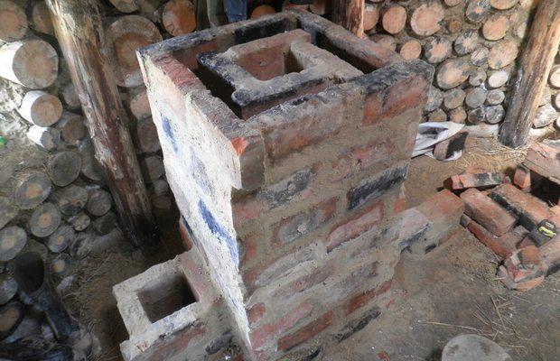 Ракета из кирпича – строим стационарную конструкцию