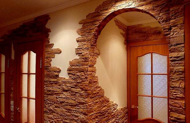 Декоративный камень – стильный дизайн