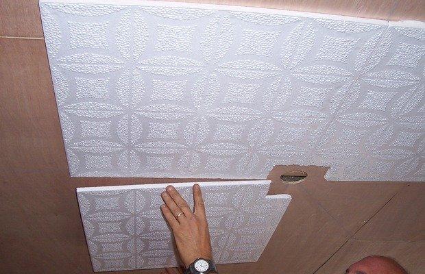 Первый этап работ – грамотно подготовимся к декорированию потолка
