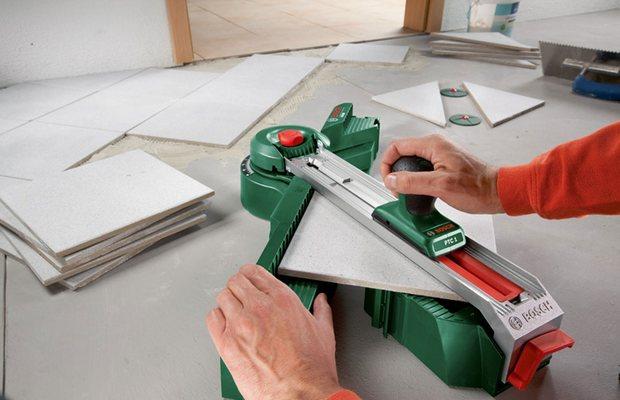Керамическая плитка – как работать с хрупким материалом?