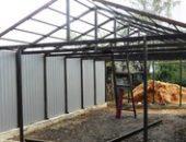 Фото - Строительство гаража из металлоконструкций – все сделаем сами!