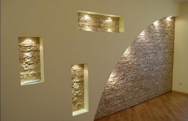 Действительно ли гипсокартонные стены идеально гладкие?
