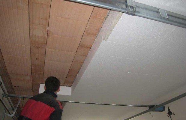 Завершающий этап – утепление и отделка потолка