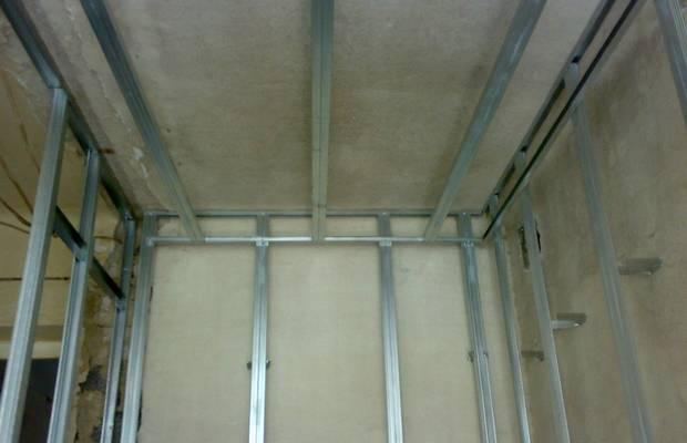 Изделия для сооружения основы под гипсокартон – что еще понадобится?