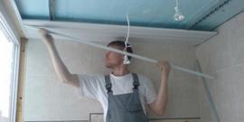 Фото - Реечные потолки для ванной – выбираем подходящий вариант и устанавливаем