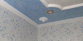 Фото - Жидкие обои для потолка – шикарный декор своими руками