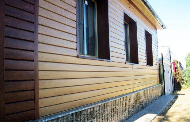 Сайдинг для облицовки фасадов – какой выбрать?