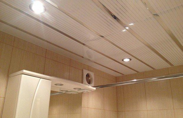 Реечное покрытие потолка – знакомимся ближе