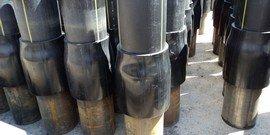 Соединение полиэтиленовых труб со стальными – легко ли сделать самому?
