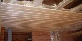 Утепление потолка в бане своими руками – создаем и сохраняем тепло и комфорт