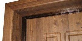 Отделка двери ламинатом – как сделать вход в жилище особенным?