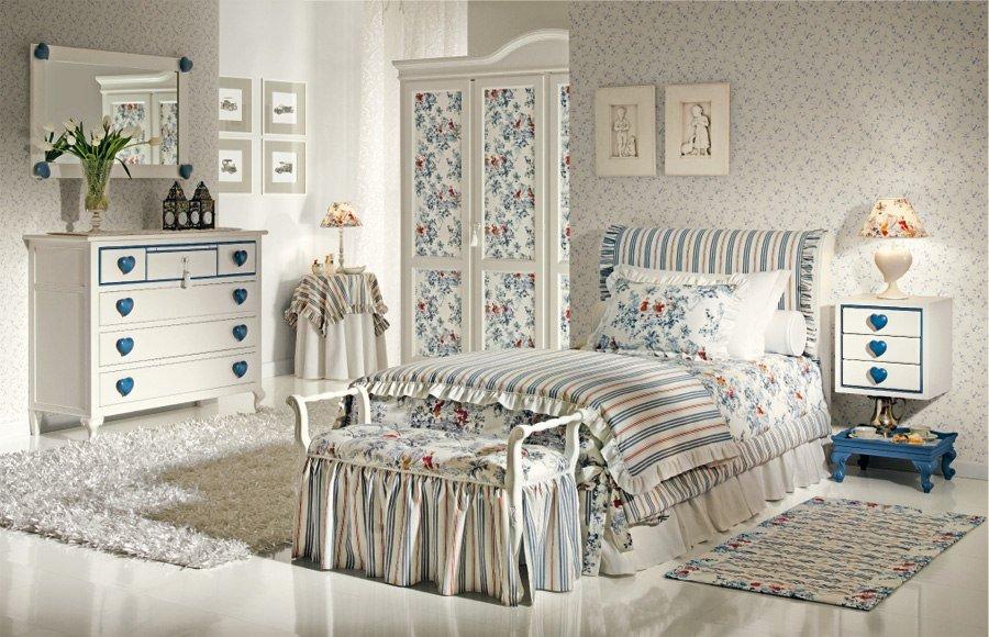 Особенности стиля прованс при оформлении детской комнаты фото