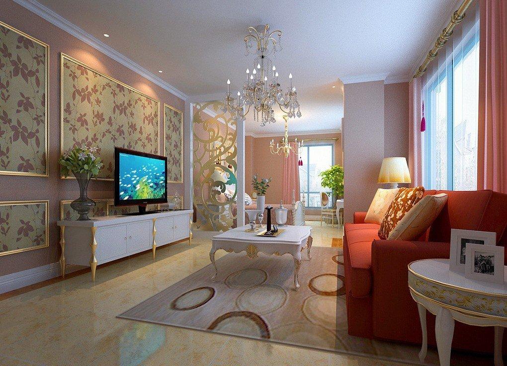 Декоративное оформление гостиной в стиле современной классики