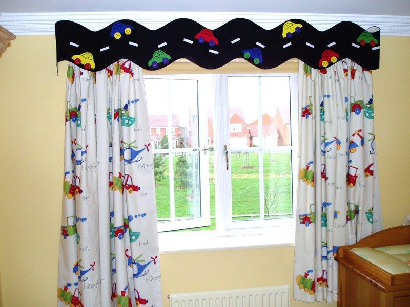 Общие рекомендации по выбору штор для комнаты мальчика