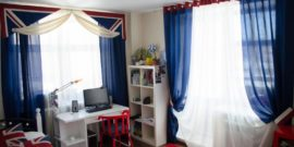 Шторы в детскую комнату для мальчика