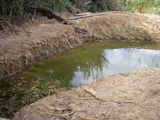 Пример глинистой почвы
