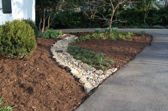 «Каменный ручей» - элемент дизайна
