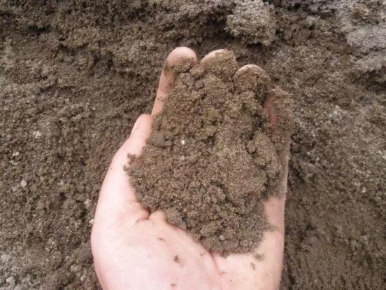 Пескование глинистой почвы