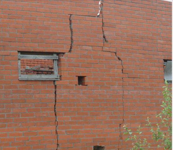 Растрескивание стен