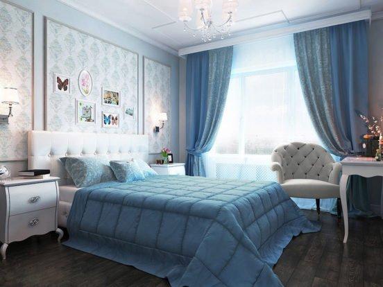 Оформление: пол, стены, потолок, мебель, декоративные элементы, освещение, текстиль