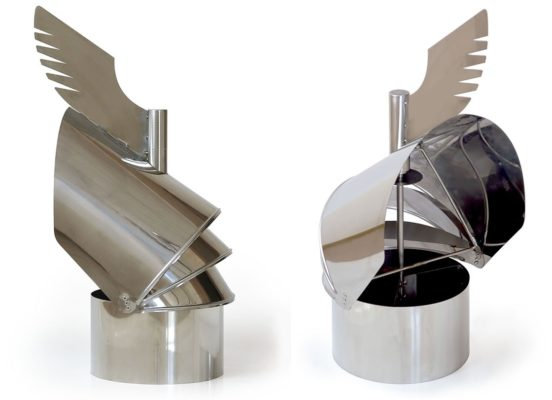 Флюгер-дефлектор простой