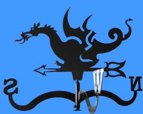 Флюгер-дракон